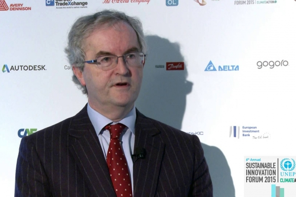 COP21 Climate Leader Video – Jonathan Taylor, European Investment Bank