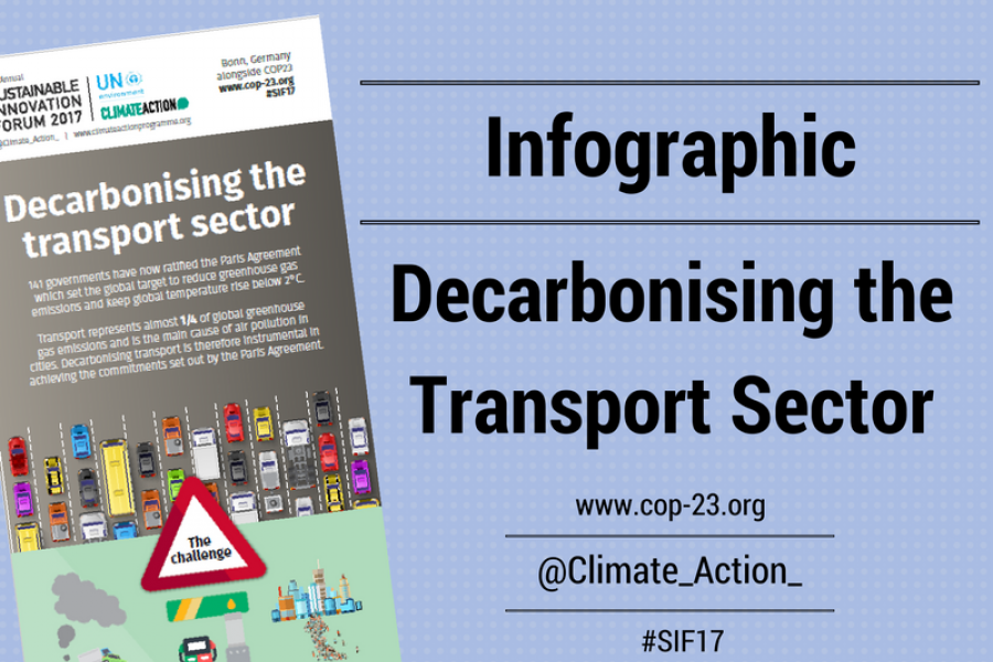 Decarbonising the Transport Sector
