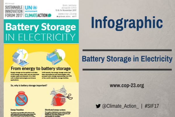 Battery Storage in Electricity