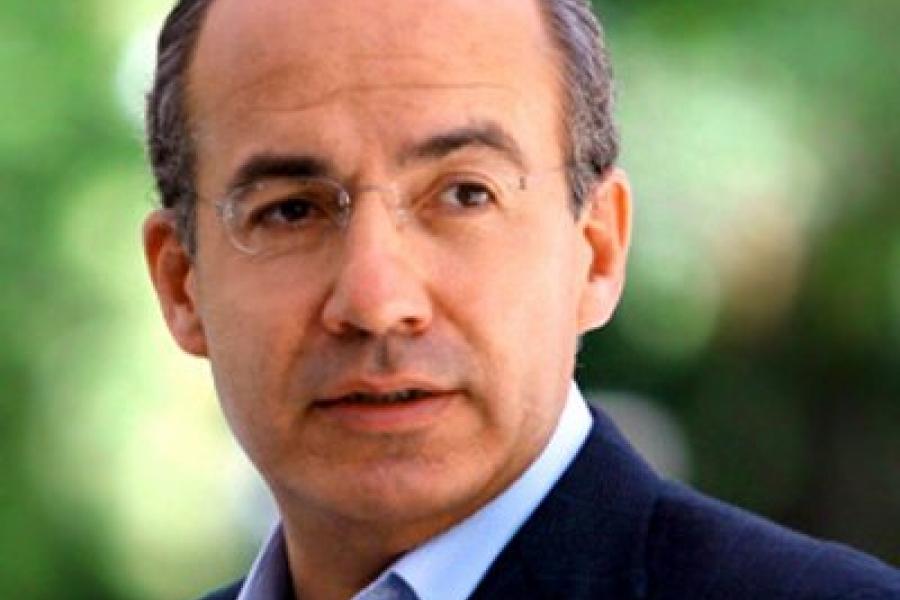 President Felipe Calderon Hinojosa   COP23 Felipe Calderon